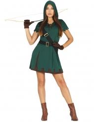 Disfarce Arqueira verde - mulher