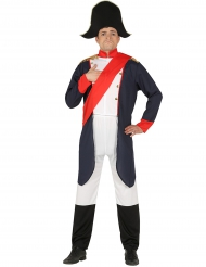 Disfarce imperador Napoleão homem