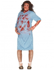 Disfarce zombie grávida adulto Halloween