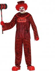 Disfarce palhaço assassino Halloween  adulto