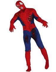 Disfarce zombie homem aranha adulto Halloween