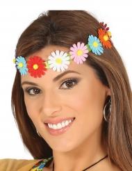 Bandolete com flores coloridas adulto