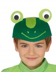 Chapéu engraçado rã criança