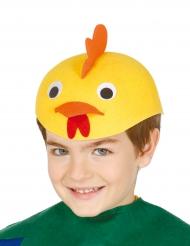 Chapéu pintainho engraçado criança