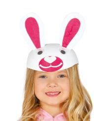 Boné coelho engraçado criança