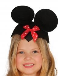 Chapéu rato com laço criança