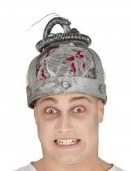 Chapéu cadeira elétrica adulto Halloween