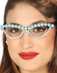 Óculosanos 50 pérolas mulher