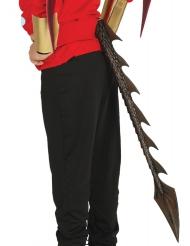 Cauda de dragão preta