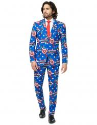 Fato Mr. Captain America™ homem Opposuits™