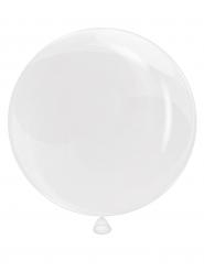 Balão redondo translúcido 46 cm
