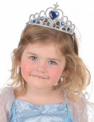 Diadema azul e prateado criança