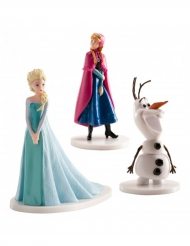 Bonecos de plástico Elsa, Anna e Olaf - Frozen™