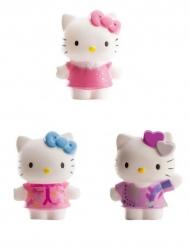 3 Bonecos de plástico Hello Kitty™