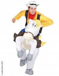 Disfarce Carry me Jolly Jumper adulto - Lucky Luke™