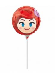 Balão alumínio Ariel™ Emoji™ cheio