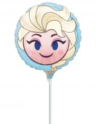Pequeno balão de alumínio Frozen™ Emoji™