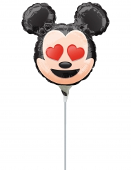 Pequeno balão de alumínio Mickey Mouse™ Emoji™