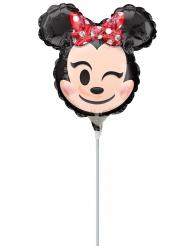 Pequeno balão de alumínio Minnie Mouse™ Emoji™