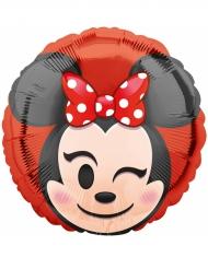 Balão alumínio Minnie Mouse™ Emoji™