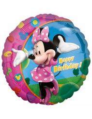 Balão alumínio Happy Birthday Minnie™