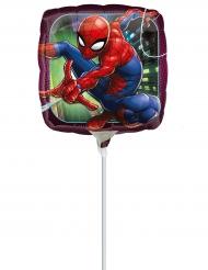 Balão de alumínio Spiderman™ insuflado 23 cm