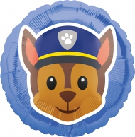 Balão alumínio Chase Patrulha Pata™ Emoji+™ 43 cm