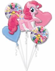 Ramo de 5 Balões de alumínio My Little Pony