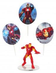 Kit de decoração para bolo iron Man™