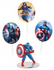Kit de decoração para bolo Captain America™
