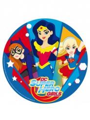 Folha de açúcar DC Super Hero Girls™ 20 cm