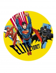 Folha de açúcar Justice League™ 20 cm