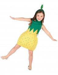 Disfarce vestido ananás menina