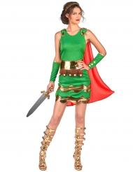 Disfarce soldado romano mulher