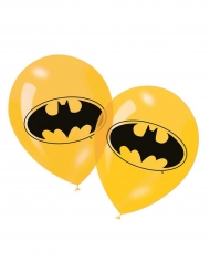 6 Balões amarelos Batman™