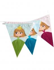 Grinalda de bandeirolas Princesa