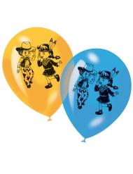 6 Balões Cowboy e índia