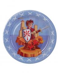 6 Pratos Cavaleiro