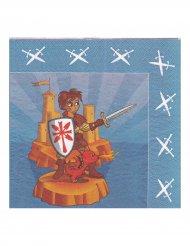 20 Guardanapos cavaleiro