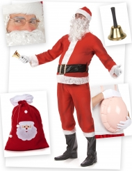 Pack disfarce Pai Natal standard