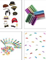 Pack animação de festa colorida