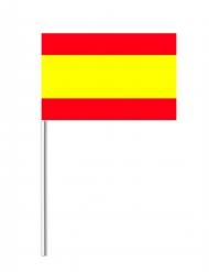 Bandeira de papel Espanha 14 x 21 cm