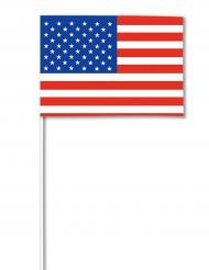 Bandeira papel USA 14 x 21 cm