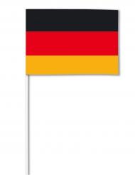 Bandeira de papel Alemanha 14 x 21 cm