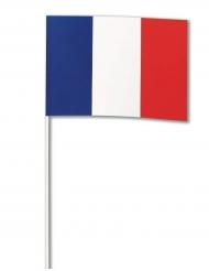 Bandeira papel França 14 x 21 cm