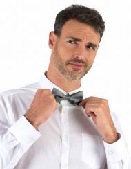 Laço para o pescoço prateado adulto