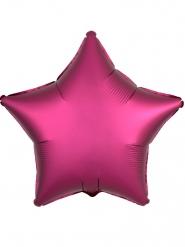 Balão estrela fúcsia