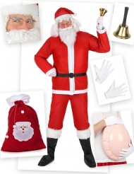Pack disfarce Pai Natal clássico