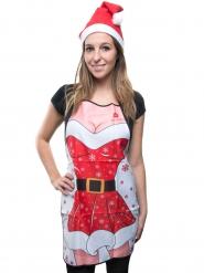 Avental humorístico e sexy Natal