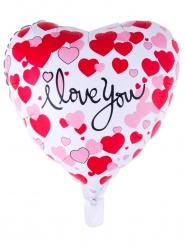 Balão alumínio coração I love you
